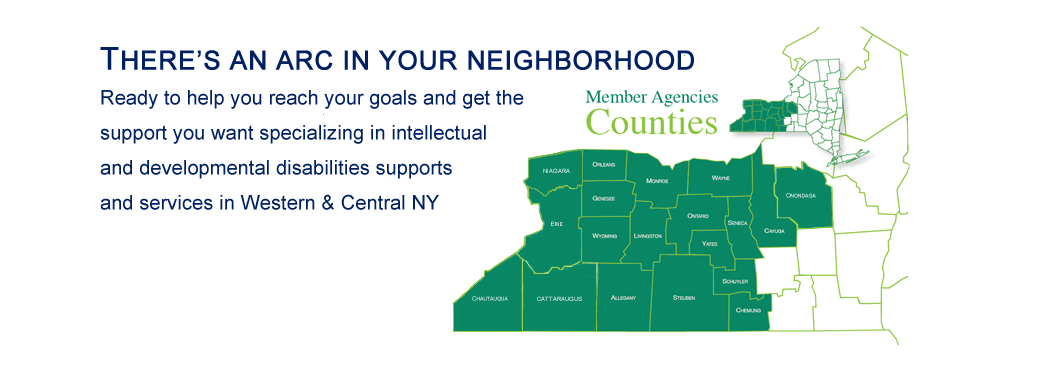 750 Years of Collective Support: 15 Arcs in 19 Upstate NY Counties